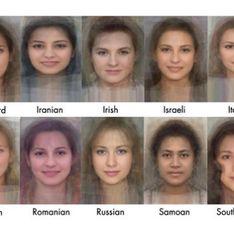 Découvrez quel est le visage moyen des femmes à travers le monde (Photos)