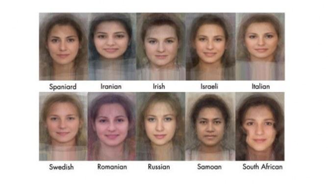 """Le visage """"moyen"""" des femmes à travers le monde"""