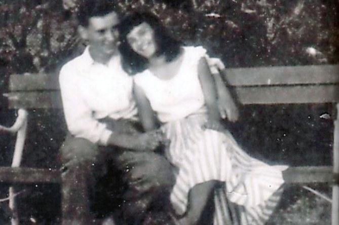 Margo et Feri il y a 58 ans