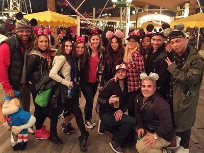 Christina Aguilera à Disneyland
