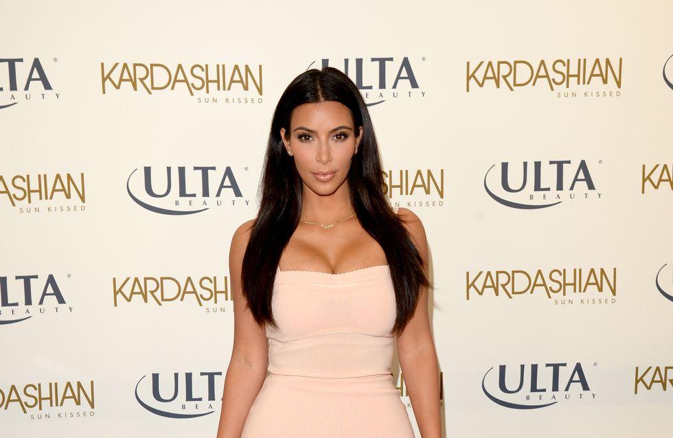 Kim Kardashian révèle son astuce anti-rides