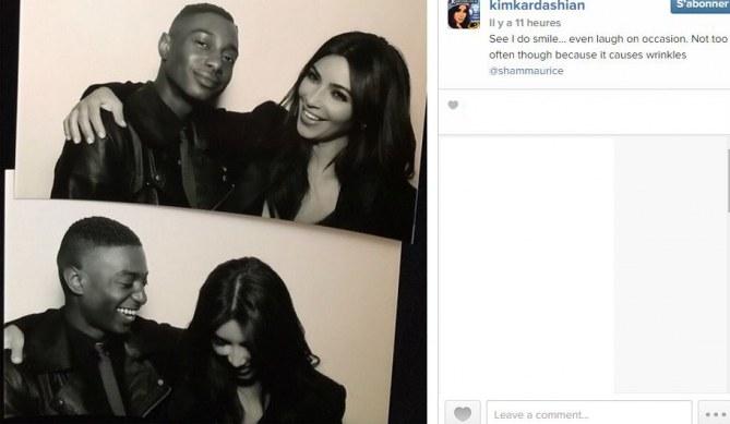 Kim Kardashian et Shamari Maurice