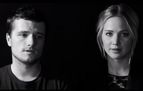 Jennifer Lawrence et Josh Hutcherson s'engagent contre Ebola