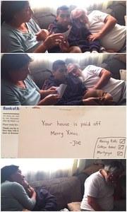 Le cadeau de Joseph va bouleverser ses parents