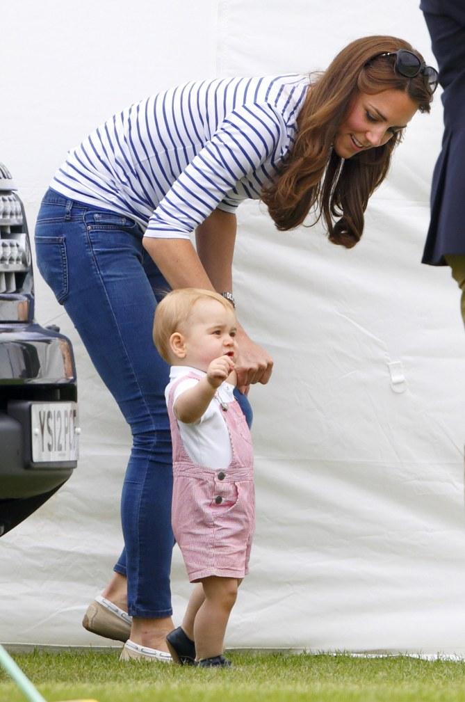 Kate Middleton et son fils.