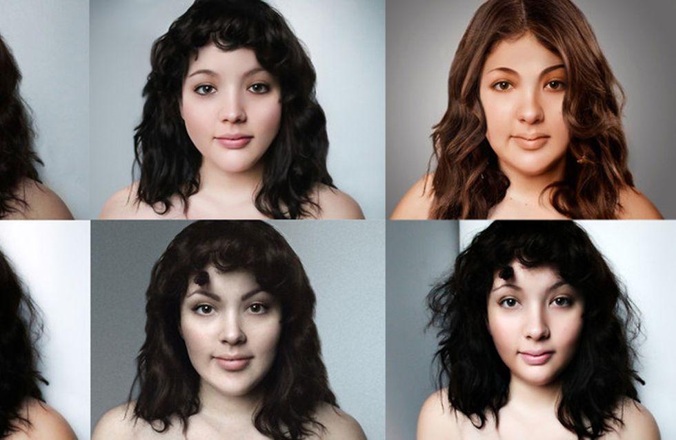 Une jeune femme ronde fait photoshopper son portrait selon les critères de beauté de 17 pays (Photos)