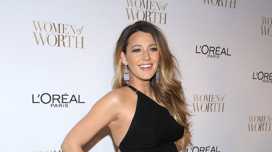 Blake Lively bientôt créatrice de vêtements pour bébé ?