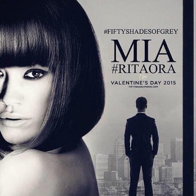 Rita Ora dans 50 Shades of Grey