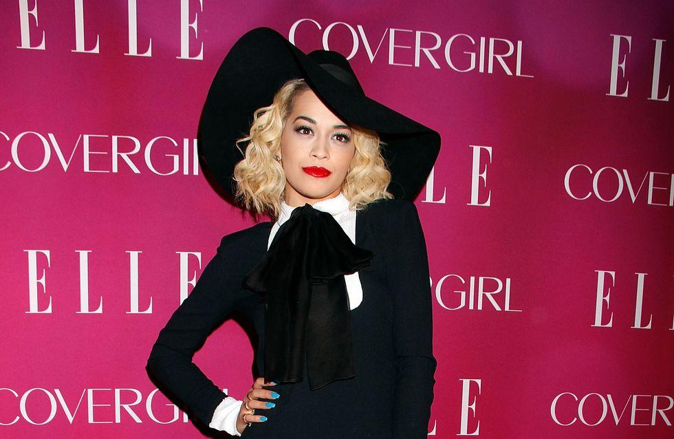 Rita Ora sexy et méconnaissable pour 50 Shades (Photo)