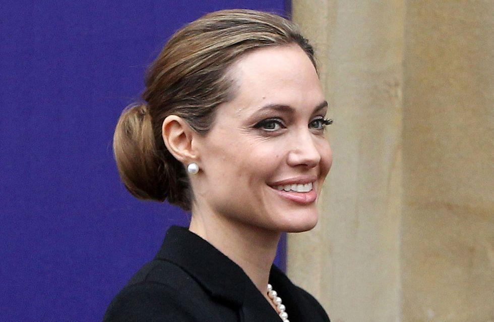 Angelina Jolie prête à se lancer en politique ?