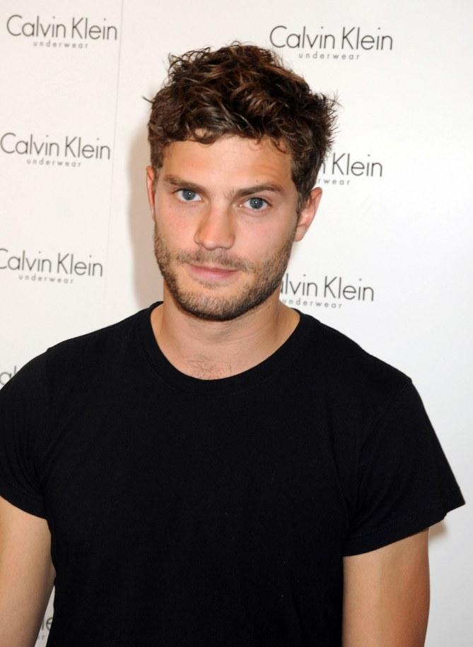Jamie Dornan pour Calvin Klein.