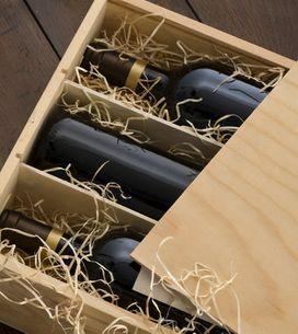 Cajas de vino: aprende a transformarlas en accesorios para tu hogar
