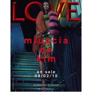 Kim Kardashian pour Love Magazine