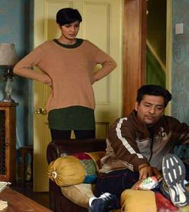 Eastenders 15/01 - Shirley, Tina, Babe and Stan discuss Sylvie's future