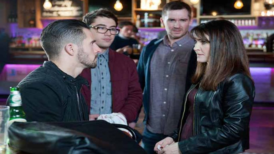 Emmerdale 13/01 – Ross and Peter come face to face with Emma