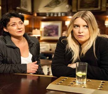 Emmerdale 14/01 – An angry Emma leaves, but not before heading towards Moira's farm
