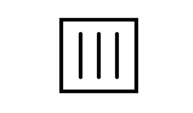 Laundry symbols on clothes labels