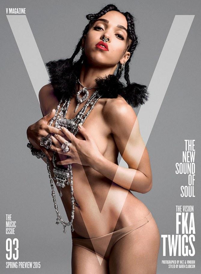 FKA Twigs pour le V Magazine.