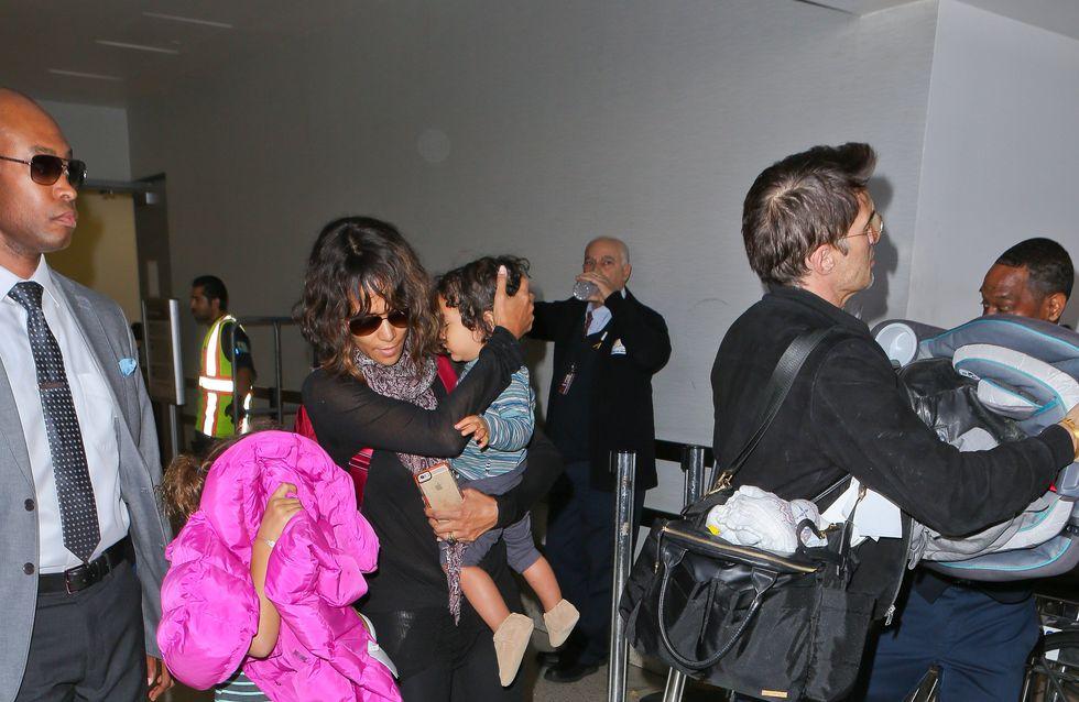 Olivier Martínez agrede a un trabajador a la salida del aeropuerto