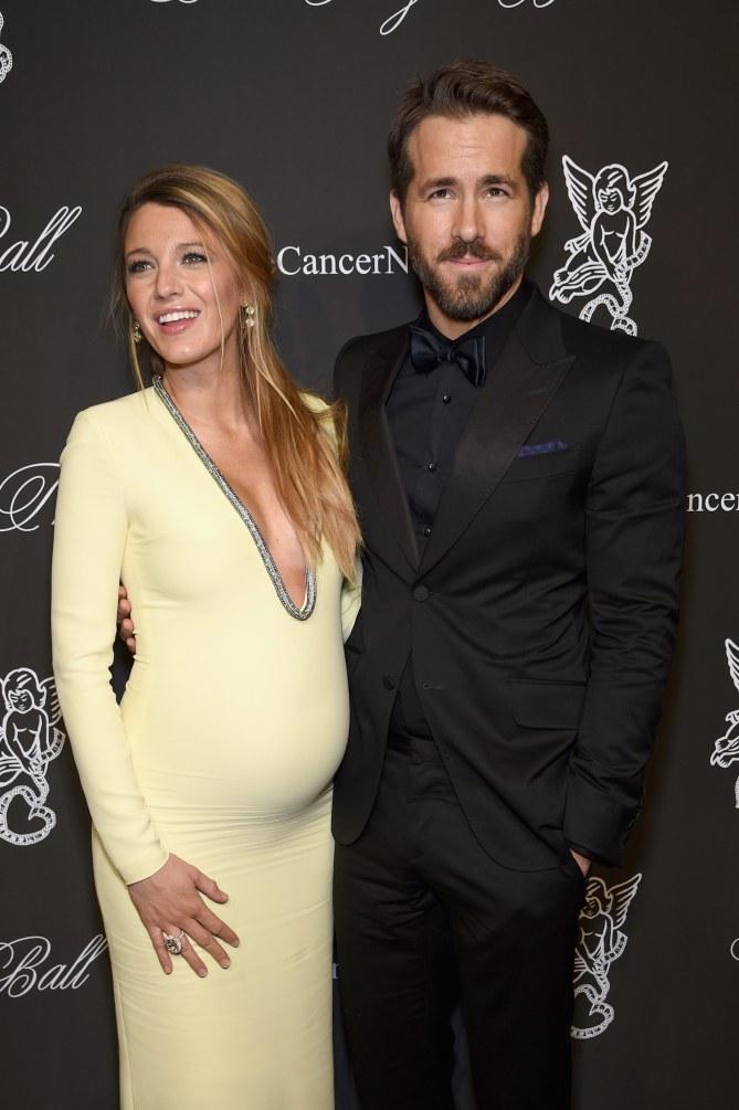 Blake Lively enceinte et Ryan Reynolds