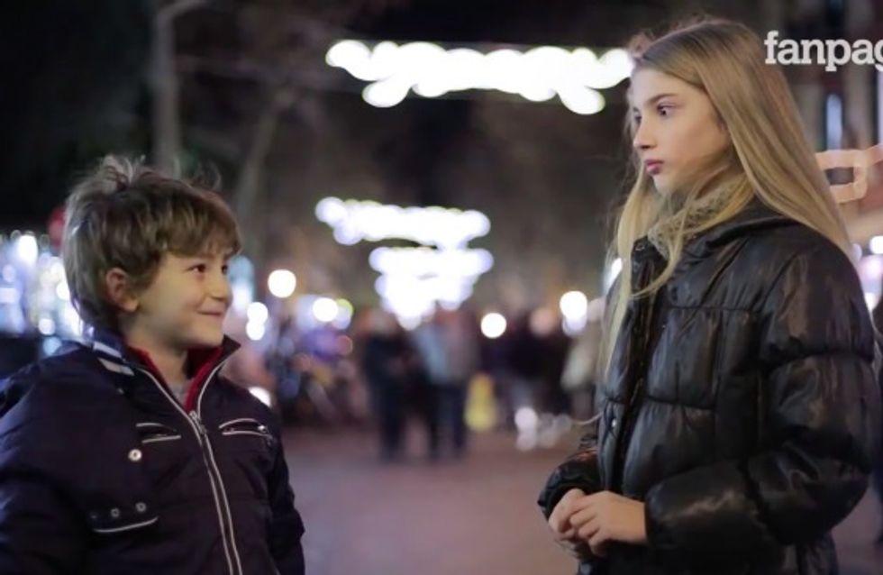 Demandez à un petit garçon de gifler une fille, voici ce qu'il vous répondra (Vidéo)