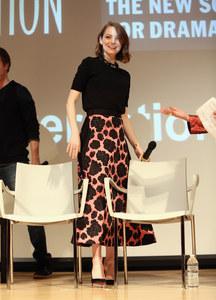 Emma Stone à New York, le 6 janvier 2015