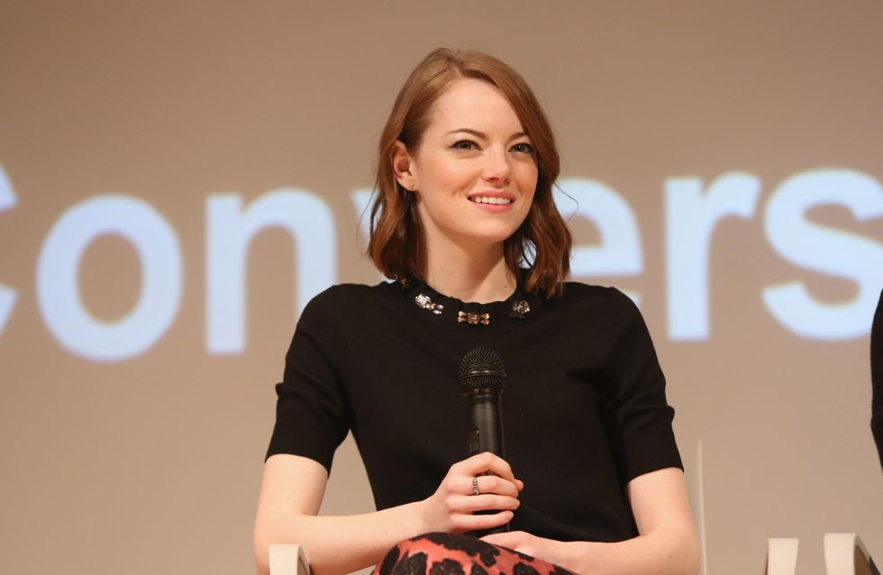 Emma Stone est notre look du jour