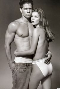 Mark Wahlberg y Kate Moss
