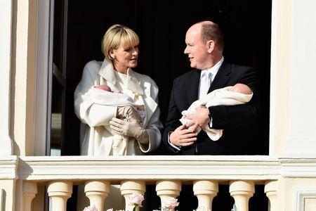 Charlène de Monaco et Albert II de Monaco