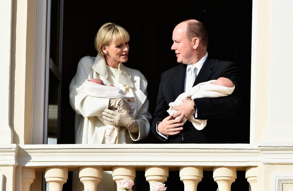 Charlène et Albert II nous présentent leurs jumeaux (Photos)