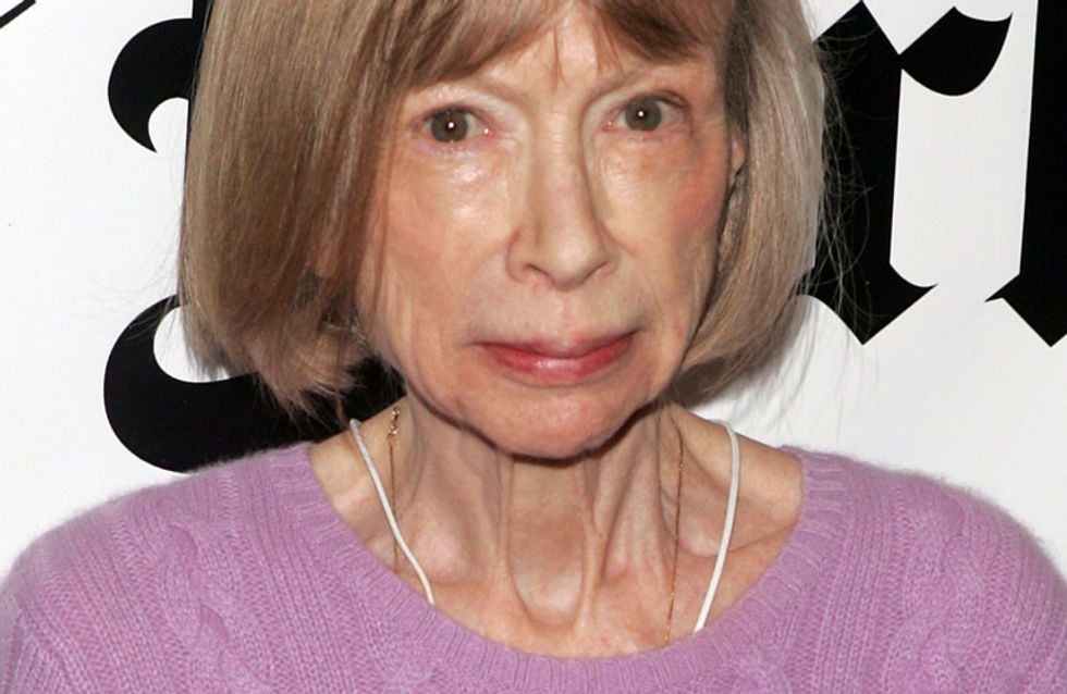 Joan Didion, la musa que colapsó las redes y enamoró a Céline