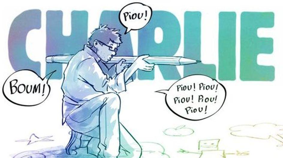 Charlie Hebdo : Les plus beaux hommages en dessins