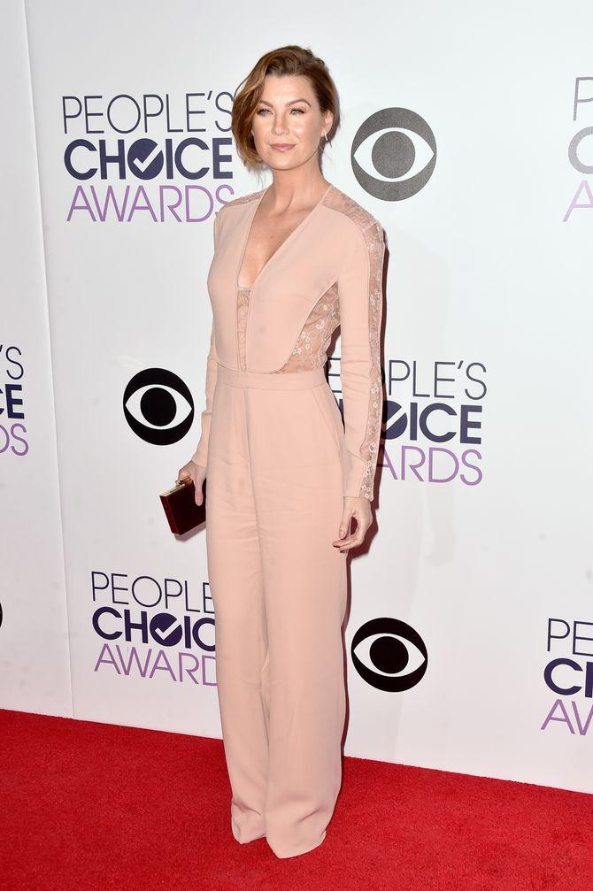 Ellen Pompeo aux People's Choice Awards 2015