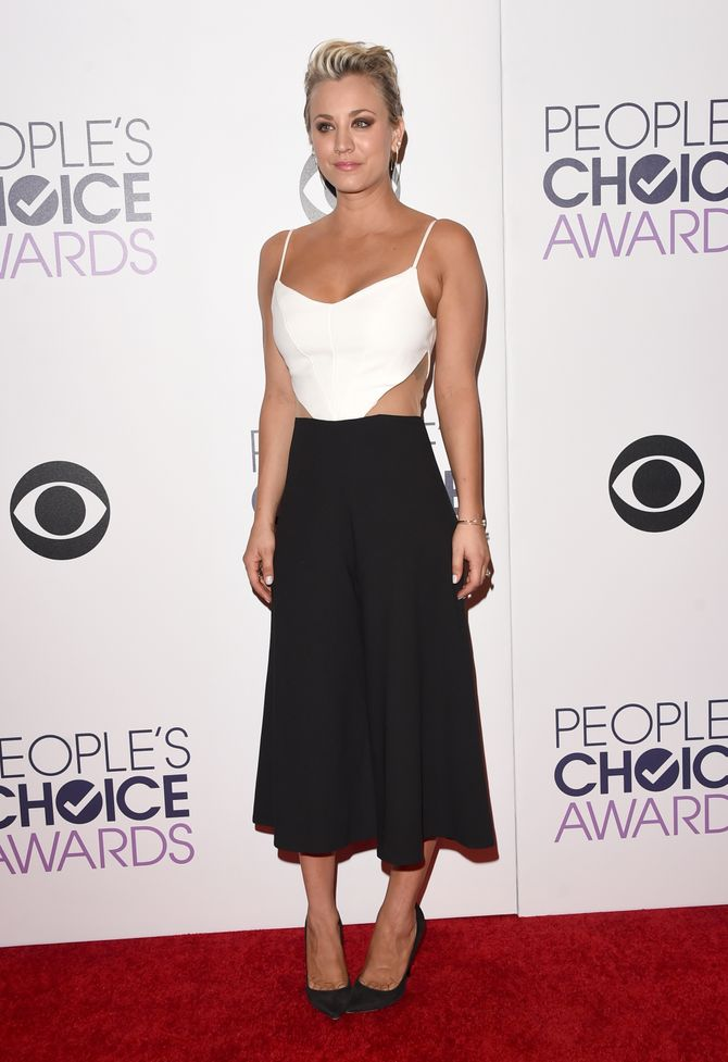 Kaley Cuoco aux People's Choice Awards 2015