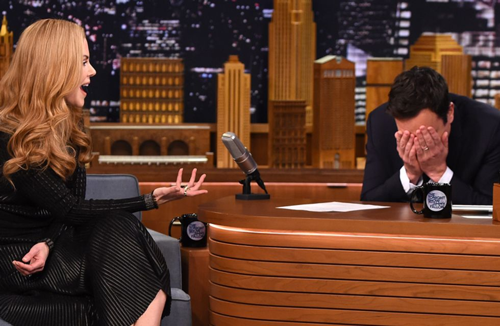 Watch Jimmy Fallon Realise He Had Been On A Blind Date With Nicole Kidman And Didn't Even Know It