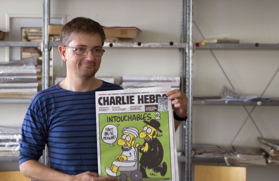 En mémoire des victimes de l'attentat à Charlie Hebdo