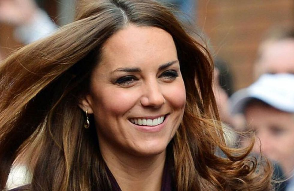 Royal Tresses! How To Blow Dry Your Hair Like Kate Middleton