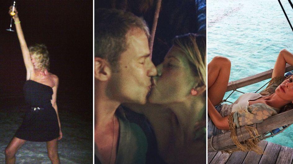 Alessia Marcuzzi: luna di miele alle Maldive con il suo Paolo. Guarda le romantiche immagini!