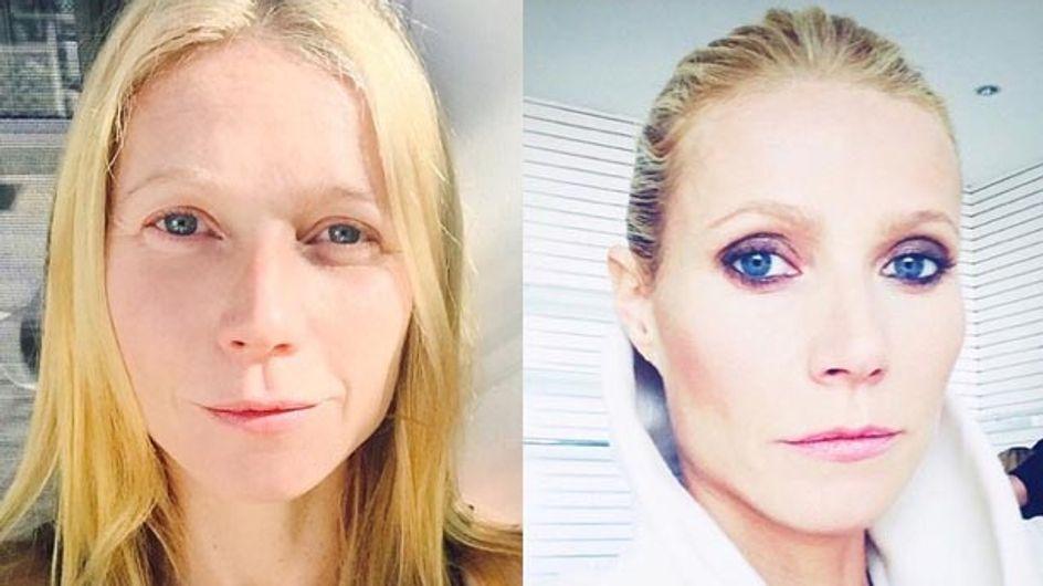 Le surprenant selfie avant/après maquillage de Gwyneth Paltrow