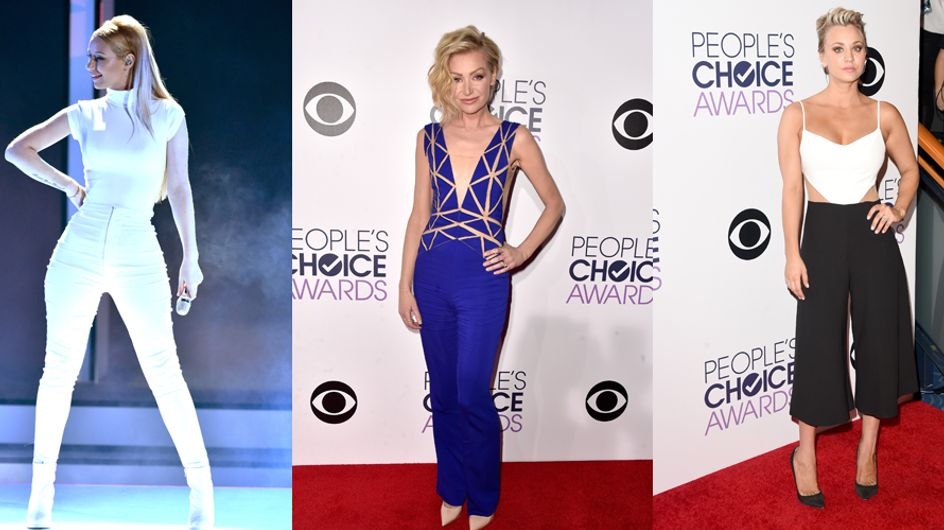 Here's How Pants And Jumpsuits Stole All The Glory At The 2015 People's Choice Awards