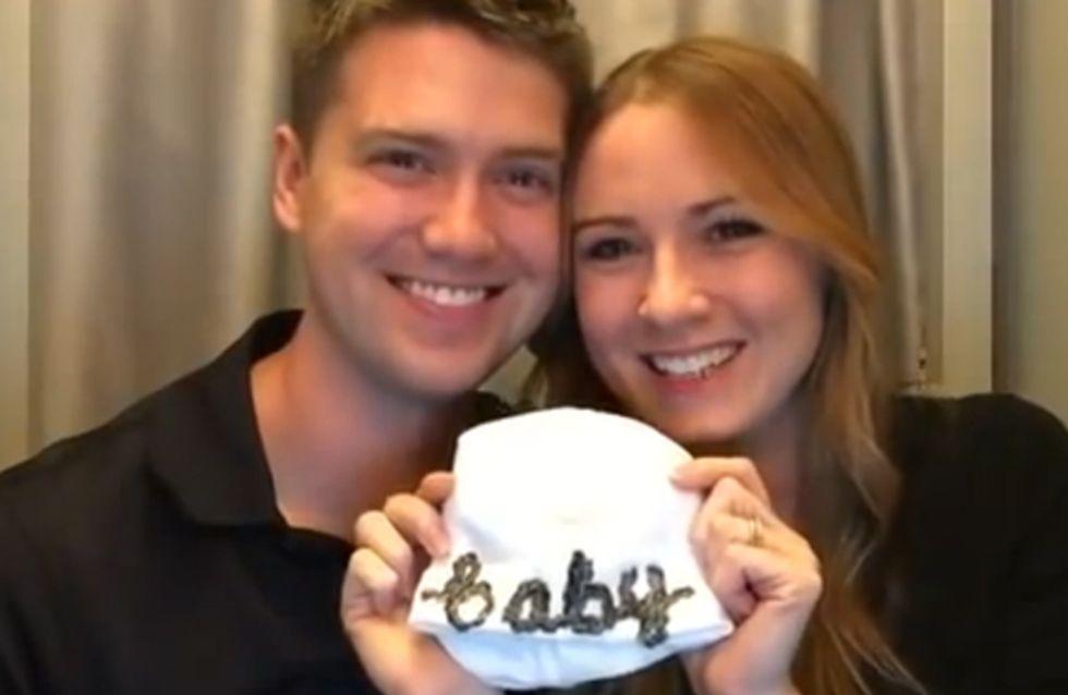 1 verliebtes Paar, 1 Foto-Box und das wohl süßeste Geständnis der Welt! ♥
