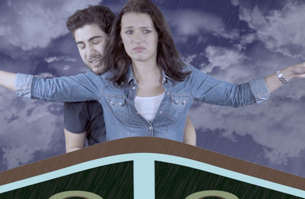 Film vs. Realität: Wie romantische Filmszenen im echten Leben aussehen!