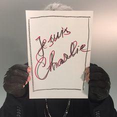 Le monde de la mode soutient le mouvement Je suis Charlie sur Instagram