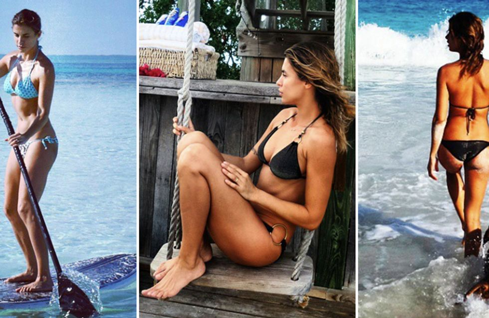 Elisabetta Canalis e Brian Perri: vacanze d'amore alle Bahamas. Gli scatti più belli della showgirl!