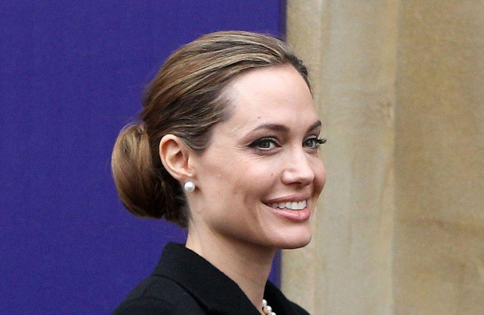 Angelina Jolie reçue par le pape François