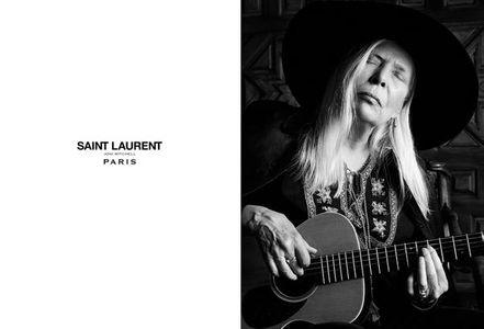 Joni Mitchell pour Saint Laurent