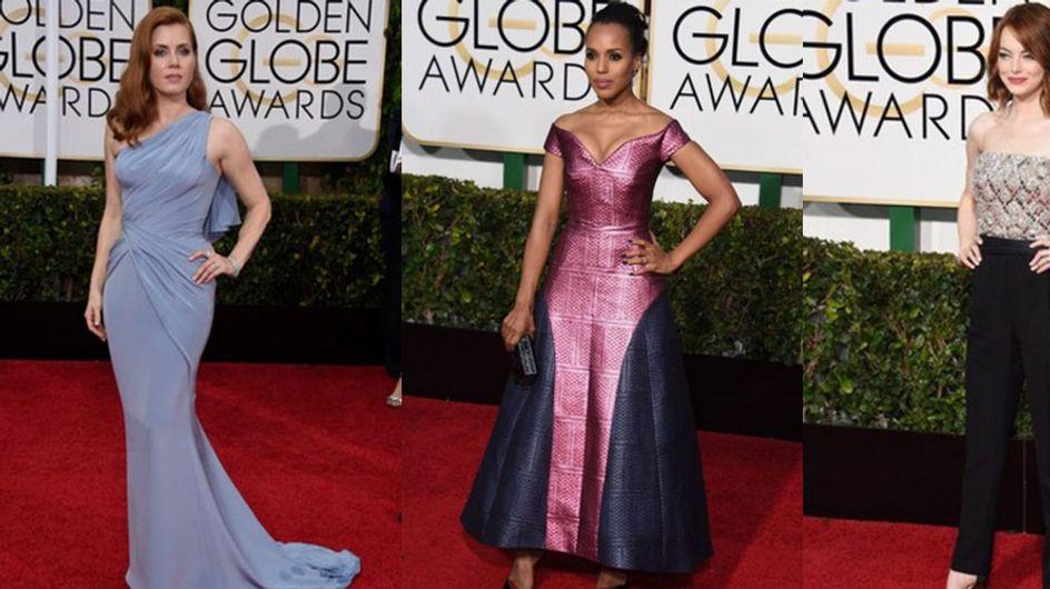 Golden Globes 2015 : Les meilleurs et les pires looks sur le tapis rouge (Photos)