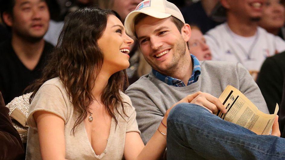 Así es Wyatt Isabelle, la hija de Ashton Kutcher y Mila Kunis