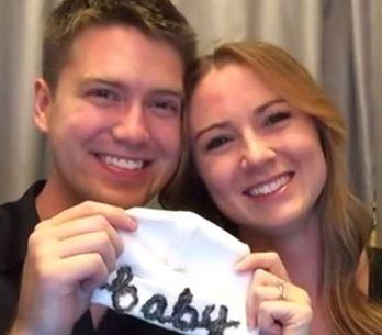 Una manera original de anunciar tu embarazo: ¡no te pierdas este vídeo tan emoci
