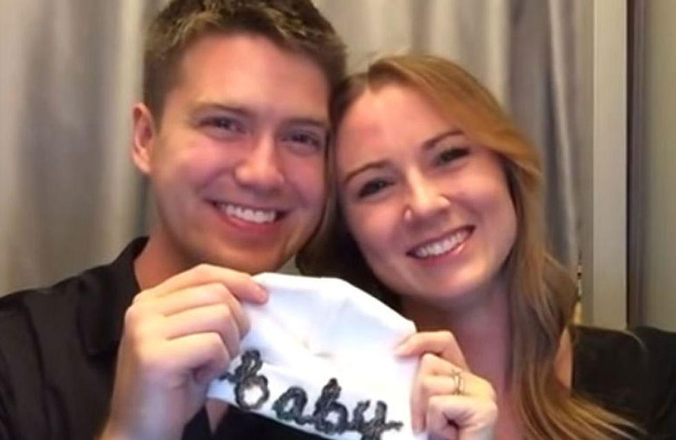 Una manera original de anunciar tu embarazo: ¡no te pierdas este vídeo tan emocionante!